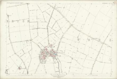 Oxfordshire V.6 (includes: Alkerton; Shutford; Wroxton) - 25 Inch Map