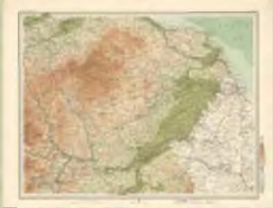Berwick - Bartholomew's 'Survey Atlas of Scotland'