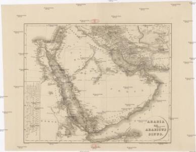 Arabia et Arabicus sinus