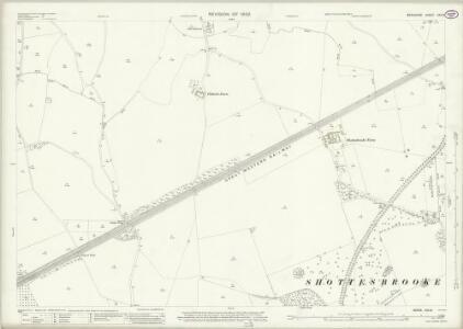 Berkshire XXX.8 (includes: Hurley; Shottesbrooke; Waltham St Lawrence; White Waltham) - 25 Inch Map