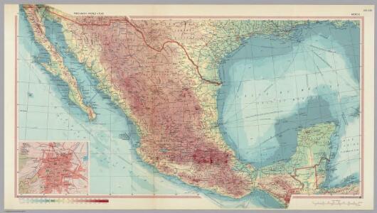 Mexico.  Pergamon World Atlas.