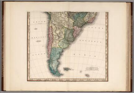 South America and West Indies. 1818