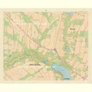 Nieder Ehrenberg - c1317-2-004 - Kaiserpflichtexemplar der Landkarten des stabilen Katasters