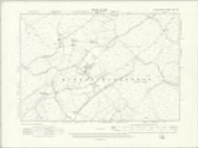Denbighshire XVII.SE - OS Six-Inch Map