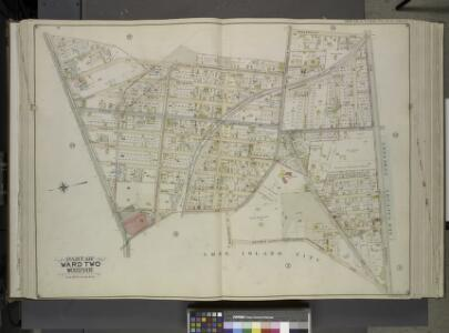 Queens, Vol. 2, Double Page Plate No. 15; Part of     Ward Two Woodside; [Map bounded by Kelly Ave., Woodside Ave., Greepoint Ave.,    Thomson Ave.; Including Astoria Road (Highway to Calvary Cemetery) (Celtic       Ave.), Middleburg Ave., Jackson Ave