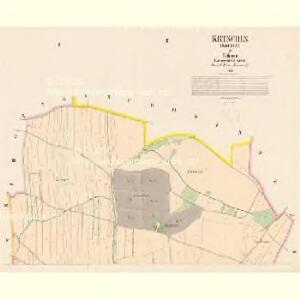 Krtschin (Krczin) - c3546-1-001 - Kaiserpflichtexemplar der Landkarten des stabilen Katasters