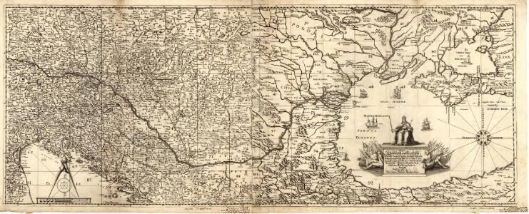 Neűe Ungarisch- und Türckische Grosse Land-Charte