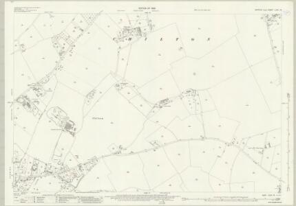 Suffolk LXXII.16 (includes: Chilton; Great Cornard; Great Waldingfield; Sudbury) - 25 Inch Map