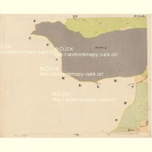 Pernek - c5699-1-015 - Kaiserpflichtexemplar der Landkarten des stabilen Katasters