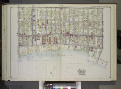 Brooklyn, Vol. 2, Double Page Plate No. 27; Part of Wards 30 & 31, Section 19; [Map bounded by 86th St., 23rd Ave., 24th Ave.; Including Gravesend Bay, 17th Ave.] / by and under the direction of Hugo Ullitz.