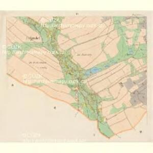 Hielgersdorf - c6854-2-004 - Kaiserpflichtexemplar der Landkarten des stabilen Katasters