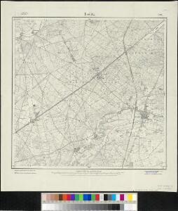 Meßtischblatt 2040 : Beelitz, 1920