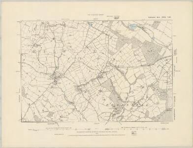 Staffordshire XXXI.SW - OS Six-Inch Map