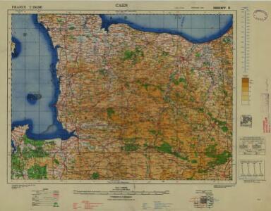 France 1:250,000, Caen