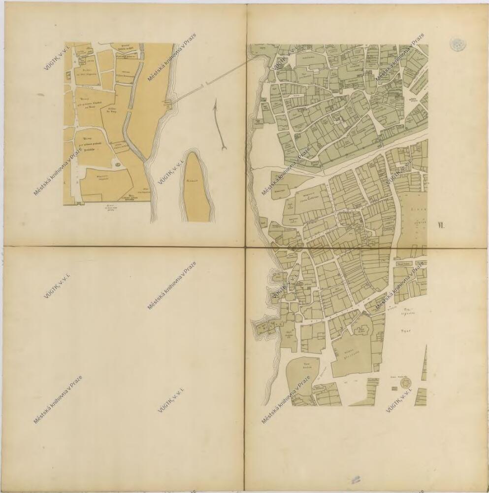 Praha Mapy Stare Prahy K Letum 1200 1348 A 1419