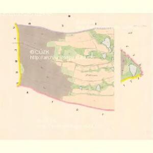 Scheibenradaun - c5402-1-002 - Kaiserpflichtexemplar der Landkarten des stabilen Katasters