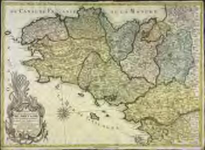 Carte generale de la province de Bretagne