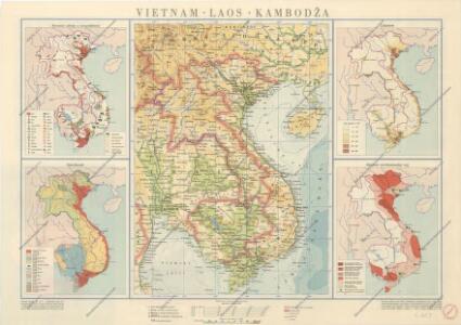 Vietnam-Laos-Kambodža