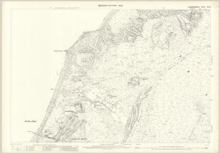 Caernarvonshire XXV.15 (includes: Llanaelhaiarn; Pistyll) - 25 Inch Map