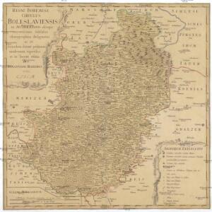 Regni Bohemiae circulus Boleslaviensis