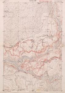 Sartori, Italy: enemy trenches corrected to 1.6.18