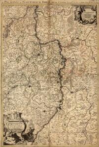 Le Palatinat et Electorat du Rhein