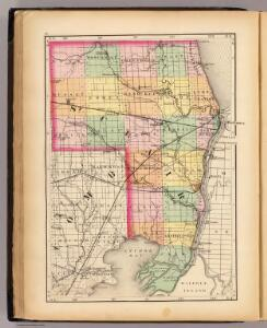(Map of St. Clair County, Michigan)