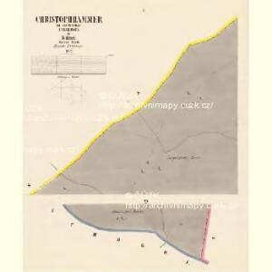 Christophhammer - c3602-1-001 - Kaiserpflichtexemplar der Landkarten des stabilen Katasters