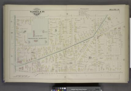 Parts of the City Auburn. Wards 6.&10.