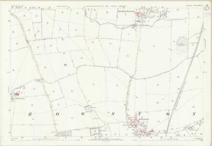 Lincolnshire LXXXVII.11 (includes: Rowston; Scopwick) - 25 Inch Map