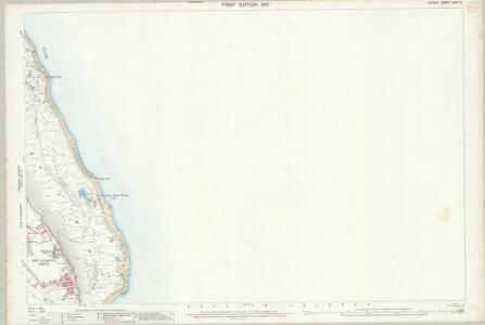 Dorset LVIII.12 (includes: Portland) - 25 Inch Map
