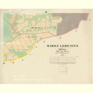 Ledenitz - c3849-1-007 - Kaiserpflichtexemplar der Landkarten des stabilen Katasters