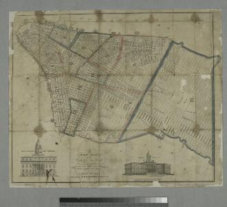 A new map of the city of New York : comprising all the late improvements, compiled and corrected from authentic documents.