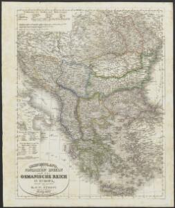 [Neuer Atlas der ganzen Erde nach den neuesten Bestimmungen ... : XXIII.] Griechenland, die Jonischen Inseln und das Osmanische Reich in Europa