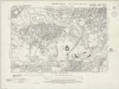 Staffordshire LXXII.SE - OS Six-Inch Map