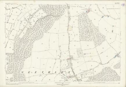 Worcestershire XXXV.4 (includes: Abbots Morton; Arrow; Inkberrow; Weethley) - 25 Inch Map