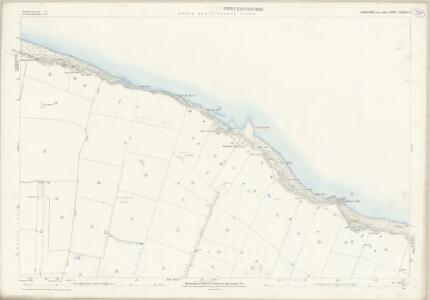 Yorkshire CXXVIII.3 (includes: Bempton) - 25 Inch Map