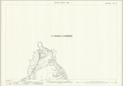 Pembrokeshire III.9 (includes: Cardigan; Cilgerran; Llangoedmor) - 25 Inch Map