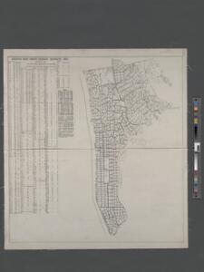 Greater New York's census districts, 1920 : compiled from map prepared 1915-1918 for the 1920 census by the New York Federation of Churches.