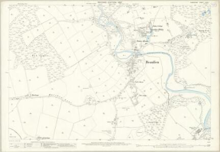 Hampshire and Isle of Wight LXXXI.1 (includes: Beaulieu) - 25 Inch Map