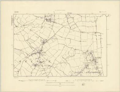 Bedfordshire IV.NE - OS Six-Inch Map