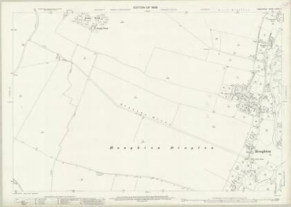 Hampshire and Isle of Wight XXXIX.7 (includes: Broughton; Houghton; Kings Somborne) - 25 Inch Map
