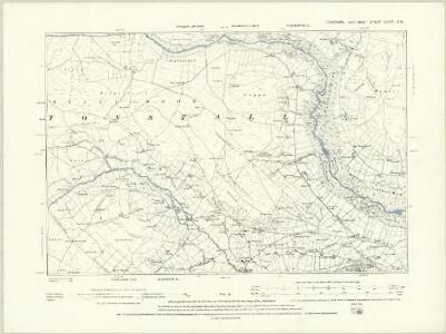 Yorkshire CCXIV.SW - OS Six-Inch Map