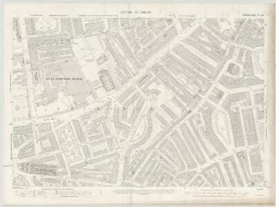 London VI.100 - OS London Town Plan