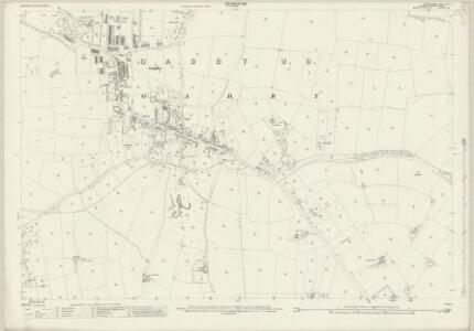 Leicestershire XXXVII.8 (includes: Oadby; Stoughton; Wigston Magna) - 25 Inch Map
