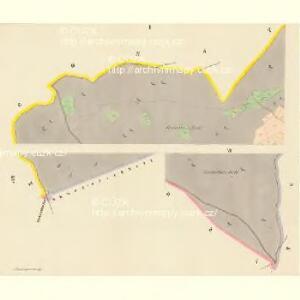 Schwarzwasser (Černávoda) - c0875-1-001 - Kaiserpflichtexemplar der Landkarten des stabilen Katasters