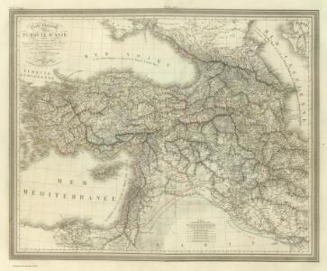 Composite:  Carte General de la Turquie d'Asie.