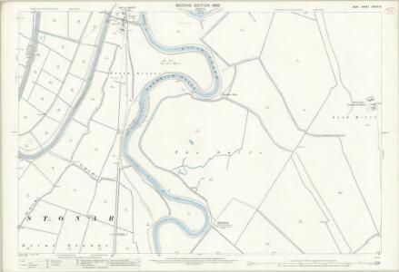 Kent XXXVII.15 (includes: Sandwich; Worth) - 25 Inch Map