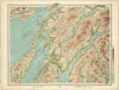 Inveraray - Bartholomew's 'Survey Atlas of Scotland'