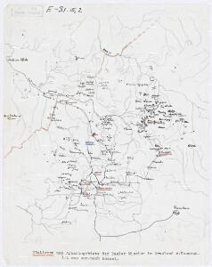 Stationen und Arbeitsgebiete der Basler Mission im Grasland v. Kamerun